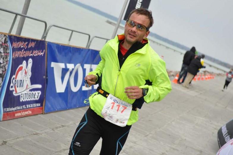 running in the London Marathon