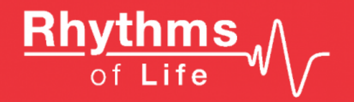 Rhythms of life charity Logo