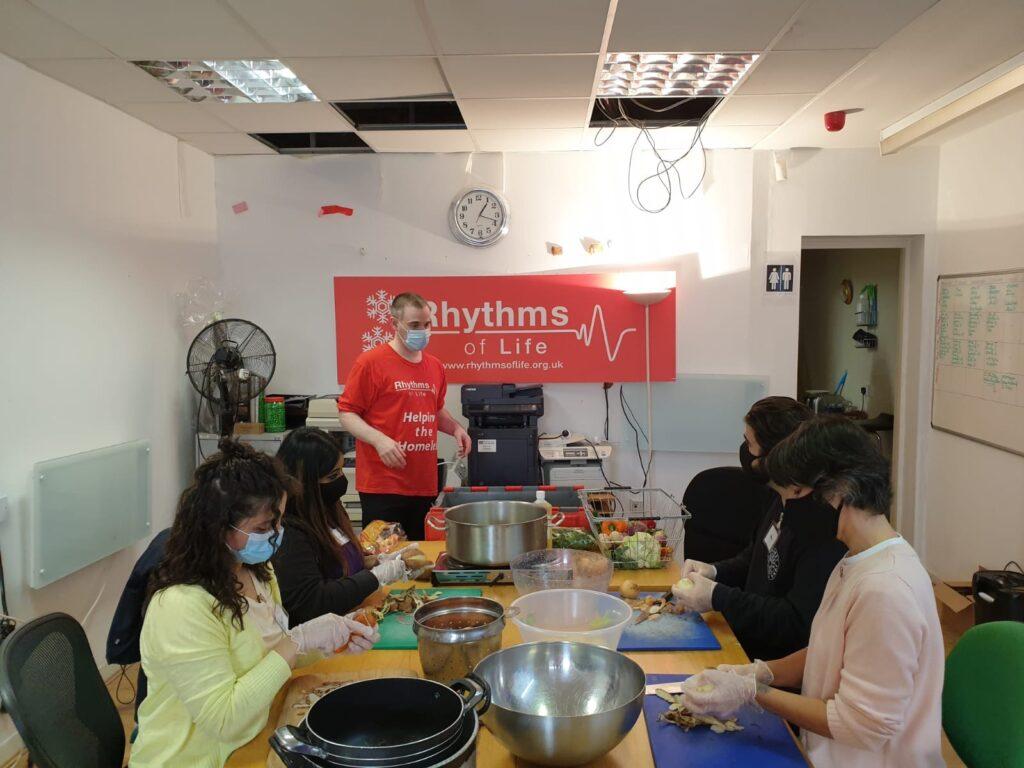 csr day at Rhythms of life charity London