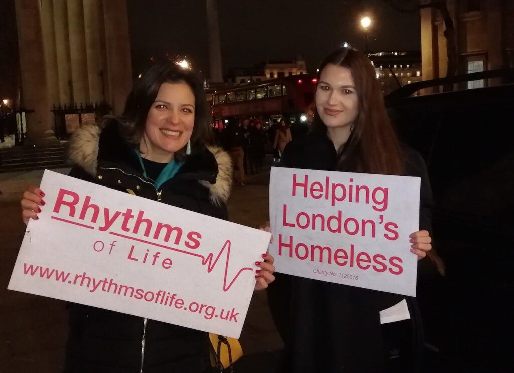 Volunteer at Rhythms of life charity