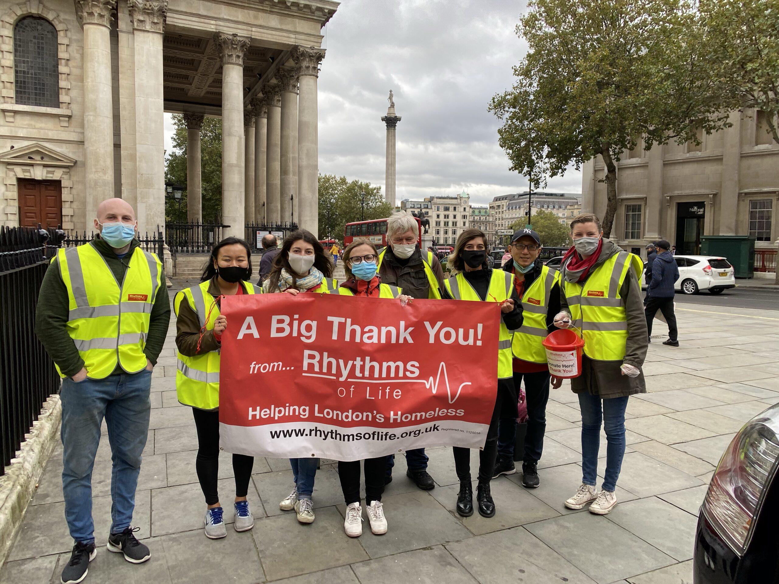 Volunteers-Rhythms of life charity