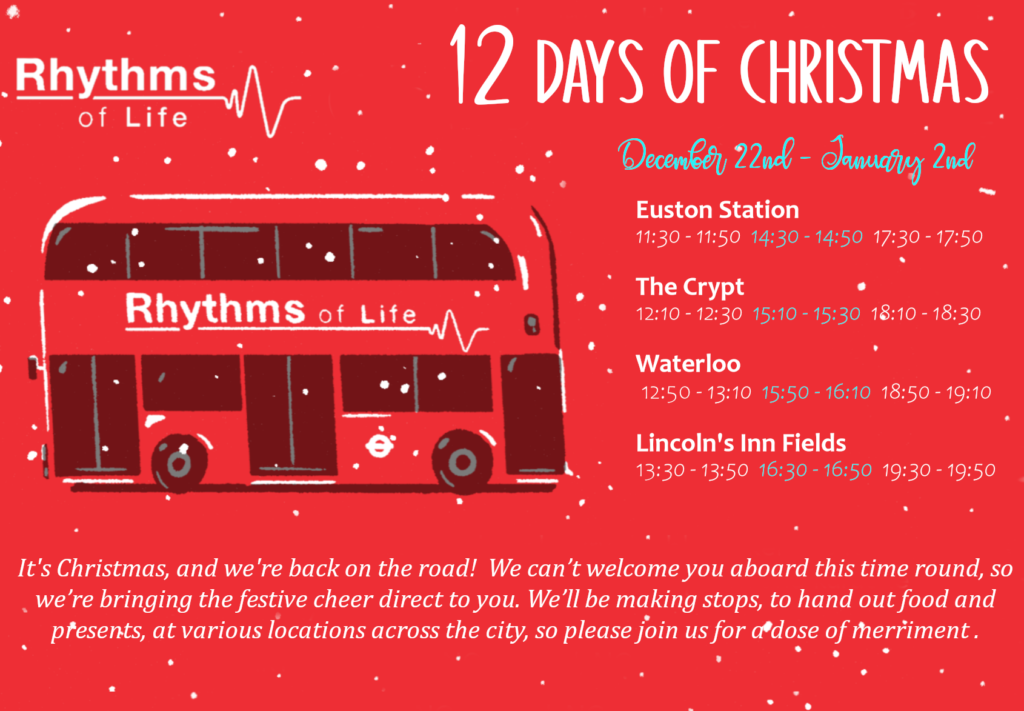 12 Days of Christmas 2020 Schedule